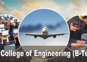 Aeronautical is covered by all b.tech branches