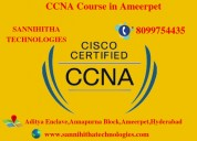 Ccna course in ameerpet