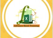 Advanced excel training in noida, ncr