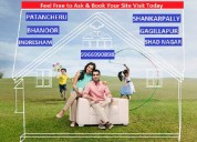 Premium villa plots for sale near bhanoor,