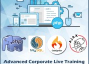 Top notch php live training in delhi ncr