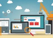 Web design and development with highly secure host