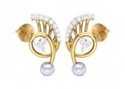 Buy gemstone earrings design online india