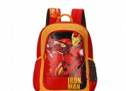 Skybags sb marvel iron man red school backpack bag