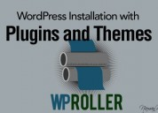 Wp roller: create custom wordpress installation wi