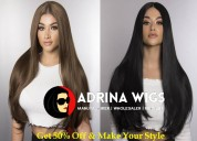 Make different look with adrina hair wigs in delhi