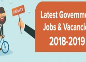 Get all types of govt jobs, vacancies and news upd