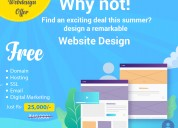 Summer special web design offer | sathya technosof