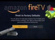 How to reset fire stick