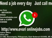 Online jobs,part time jobs,home based jobs for hou