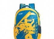 Skybags pogo 01 blue backpack bag for school