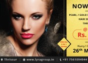 Hair color beauty parlour in thrissur