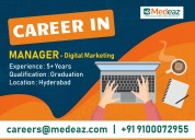Digital marketing - manager