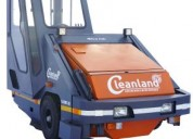 Industrial dust sweeper machine