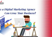 How a digital marketing agency can grow business?