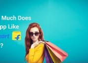 E-commerce app development cost like flipkart