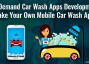 On demand car wash app development | mobile car cl