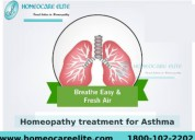 homeopathy treatment for asthma in dilsukhnagar