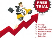 Get intraday free trial of equity, derivatives, a