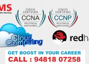 Best ccna, ccnp, rhce & cloud computing training