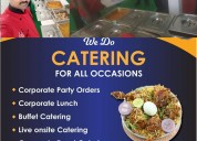 Corporate party orders in gachibowli hyderabad