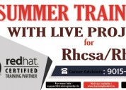 6 weeks summer training in noida on redhat - linux