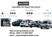 Justcabbie the airport taxi service
