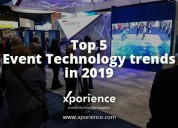 Top 5 event technology trends in 2019