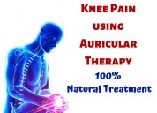 Knee pain treatment natural therapy | auricular ac