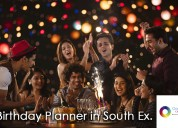 Hire the best birthday planner in south ex.