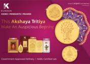 Get 5% off on kundan gold bars on akshay tritiya