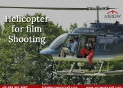 Hire helicopter for film shooting in india