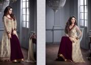 Best designer saree - bridal lahenga, gwon site gu