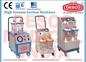 Surgical suction machine and manufacturer india
