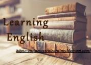 Learning english .