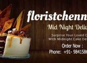 Midnight flower delivery in chennai-floristchennai