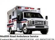 Medilift road ambulance service in patna