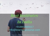 Find the  best institute in india at learn any cou