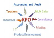 Kpo services with krazy mantra