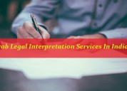 Get best legal interpretation services in india