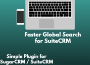 Faster global search in suitecrm integration.