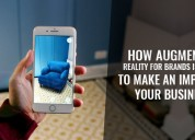 Augmented reality app development company | ar app