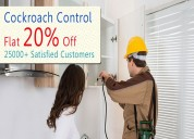 Complete eco-friendly cockroach control service