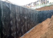 Vs enterprises -  retaining wall waterproofing