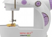Electronic sewing machine with focus light