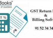 Gst return filing & billing software