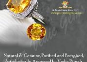 Buy yellow sapphire stone online