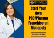 Looking for pharma franchise company for pcd?