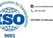 Iso 9001 certification service provider in ahmedab