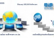 How can do you grow binary plan mlm software for